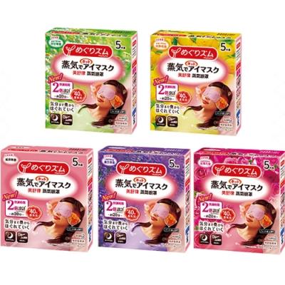 KAO花王  美舒律蒸氣眼罩12枚入裝(5款任選)