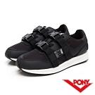 【PONY】TRIBECA系列個性風格潮流運動慢跑鞋 運動鞋 女鞋 黑色