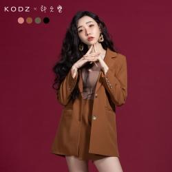 [VIP專刊] KODZx許允樂 絕對修身復古感西裝外套