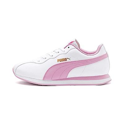 PUMA-Puma Turin II 女性復古足球運動鞋-白色