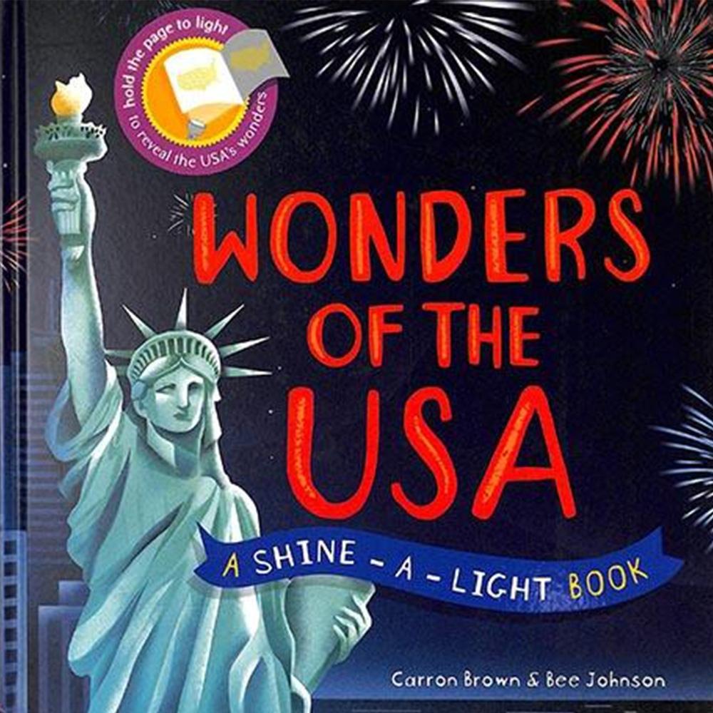 Wonders Of The USA 透光書:美國篇精裝繪本