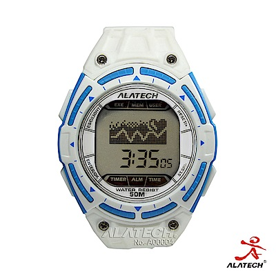 ALATECH FB003 專業健身 心率錶 –白色