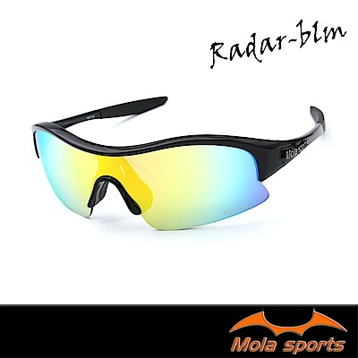 Mola摩拉運動太陽眼鏡 彩色多層膜鏡片 UV400 Radar-blm 小臉至中 男女