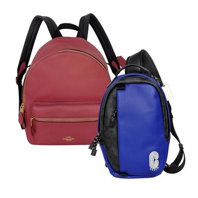 [時時樂] COACH 肩背後背包(男/女款)均一價4312元