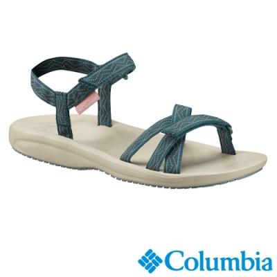 Columbia 哥倫比亞 女款-涼鞋 -孔雀藍  UBL45300PC