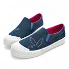 PLAYBOY街拍印象 亮蔥丹寧布餅乾鞋-淺藍