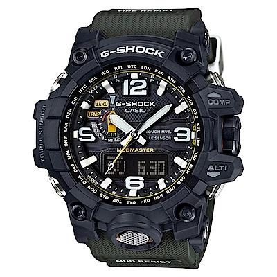 G-SHOCK 極限陸上探險家電波運動錶(GWG-1000-1A3)-56.1mm