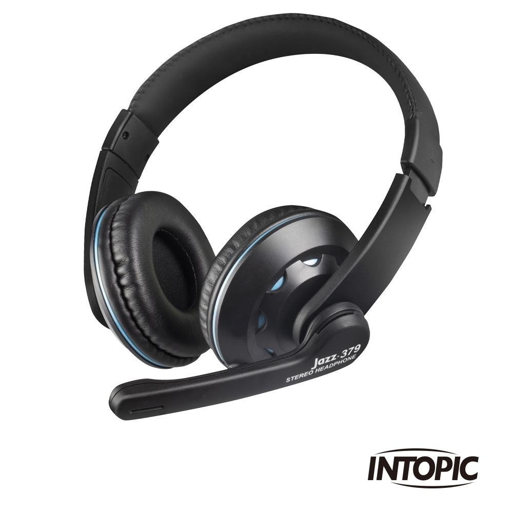 INTOPIC 廣鼎 頭戴式耳機麥克風(JAZZ-379)