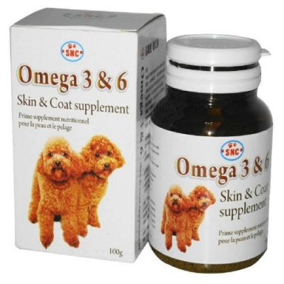 SNC活麗速-爆毛粉Omeqa3&6 skin&coat supplement 100g (YA100)
