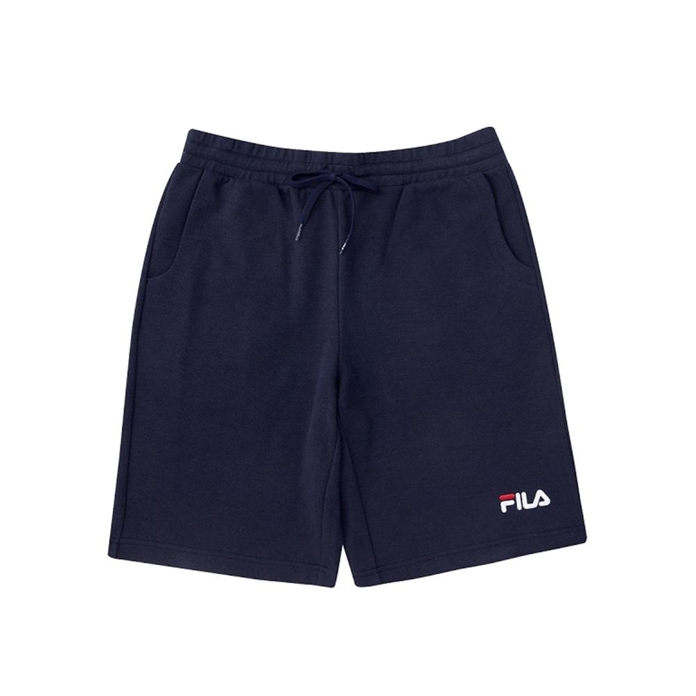 FILA 男針織短褲-丈青 1SHV-1509-NV