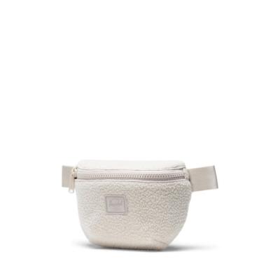 Herschel -️️️Fourteen仿羊毛腰包-米白色