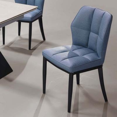 H&D 戈登藍皮餐椅