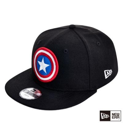 NEW ERA 9FIFTY 950 童 美國隊長 黑/紅 棒球帽