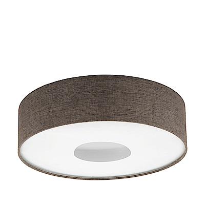 EGLO歐風燈飾 北歐風亞麻布圓型吸頂燈