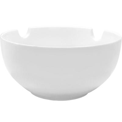 《Tokyo Design》可置筷白瓷餐碗(15cm)