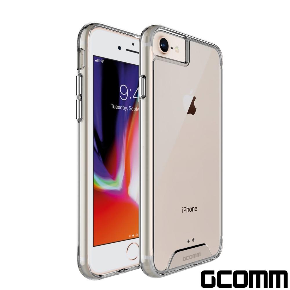 GCOMM iPhone SE2 7/8 晶透軍規防摔殼 Crystal Fusion