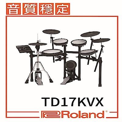 『ROLAND樂蘭』TD-17KVX V-Drums電子鼓 / 贈精美好禮 / 公司貨保固