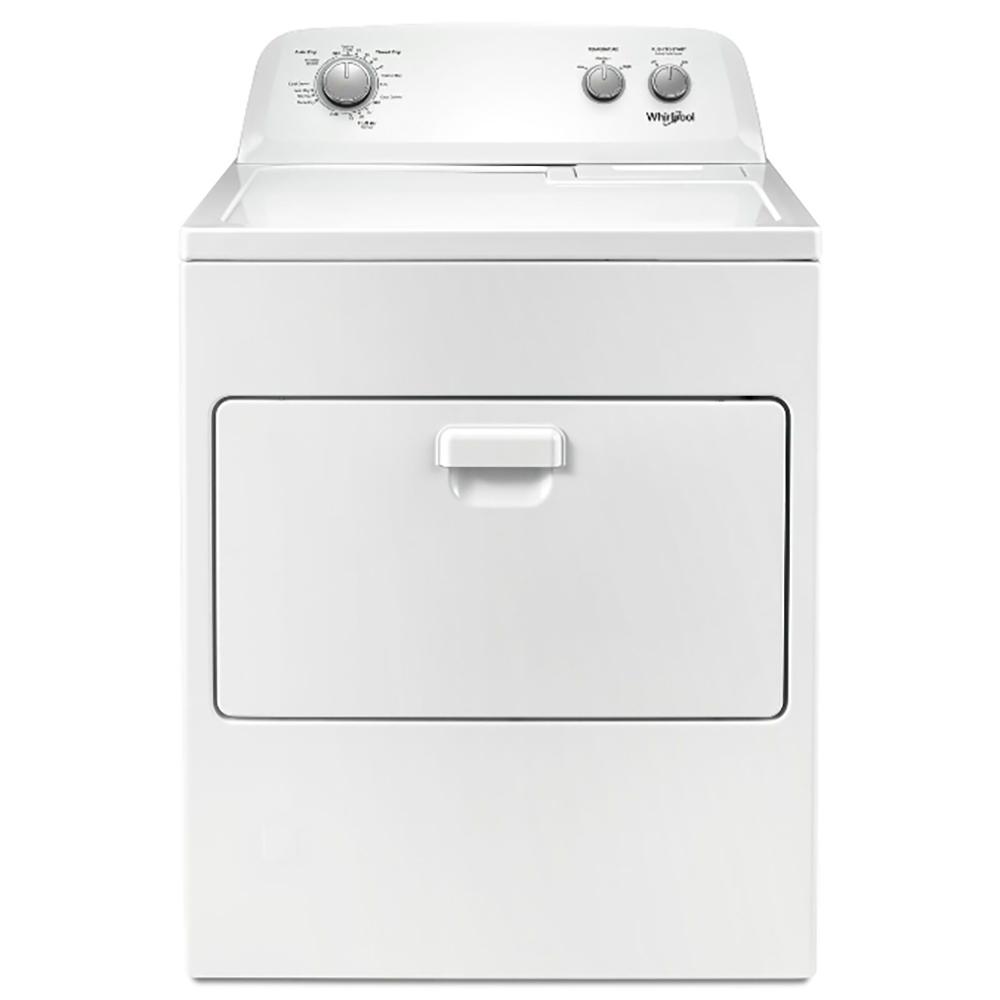 Whirlpool惠而浦 12公斤 下拉門瓦斯型直立乾衣機 WGD4850HW