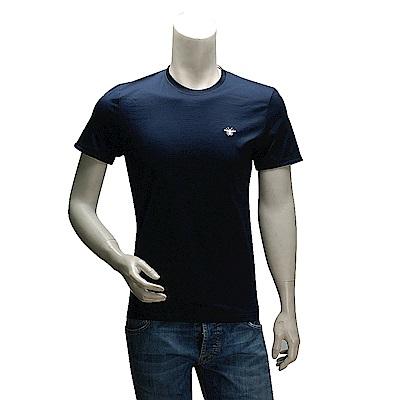 DIOR 經典蜜蜂刺繡LOGO 純棉短袖圓領T恤(深藍-M號)