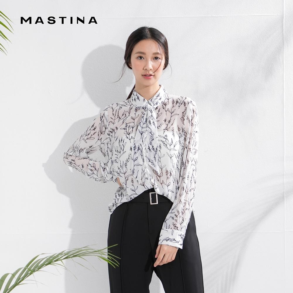 【MASTINA】手繪花卉設計質感-襯衫(二色)