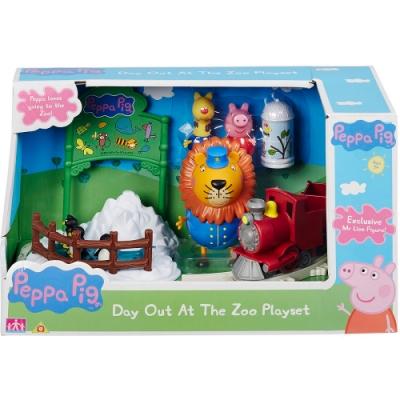 PEPPA PIG 粉紅豬小妹 動物園旅行組