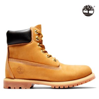 Timberland 女款小麥黃經典防水6吋靴|10361