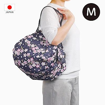 【日本Marna】Shupatto 秒收摺疊環保袋 (M) 櫻