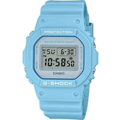 CASIO G-SHOCK 繽紛5600方塊電子錶(DW-5600SC-2)