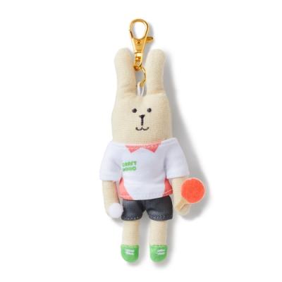 CRAFTHOLIC 宇宙人 乒乓球選手兔吊飾 (限定款)