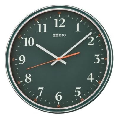 SEIKO精工 簡約個性時尚掛鐘(QXA751M)-31.2cm