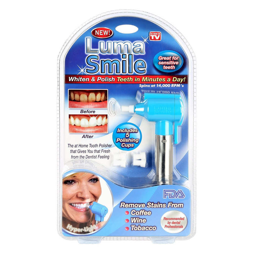 Luma Smile牙齒拋光亮白機(A33814) @ Y!購物