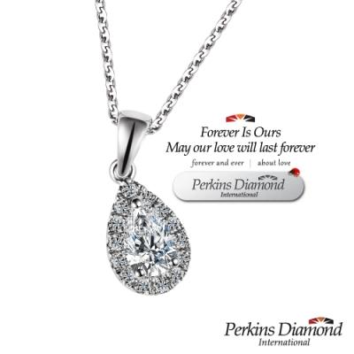 PERKINS 伯金仕 - GIA angel s tear系列 0.30克拉鑽石項鍊