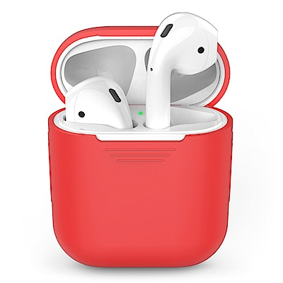 AHAStyle PodFit - AirPods 專用矽膠保護套 紅色
