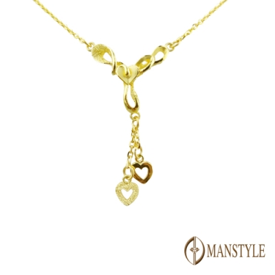 MANSTYLE 心境界 黃金小套鍊 (約1.68錢)