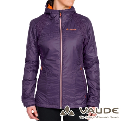 【VAUDE德國】女款Risti科技保溫棉保暖連帽外套VA-05752紫