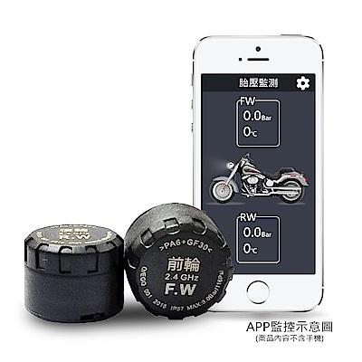 CARSCAM行車王 智能藍牙機車胎壓偵測器(胎外式)-急速配