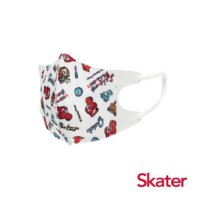 Skater幼兒立體口罩-閃電麥昆(5入/包)共6包