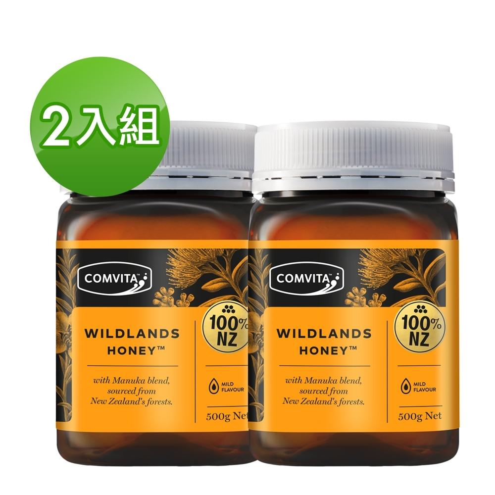 (時時樂)康維他麥蘆卡野地蜂蜜500g-2瓶組