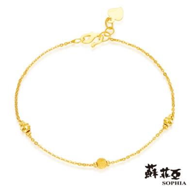 蘇菲亞SOPHIA - G LOVER系列誓約之二黃金手鍊