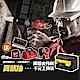 (送星巴克飲料券) Milwaukee美沃奇 12V鋰電衝擊起子機 M12BID超值組(防割手套+捲尺) product thumbnail 2