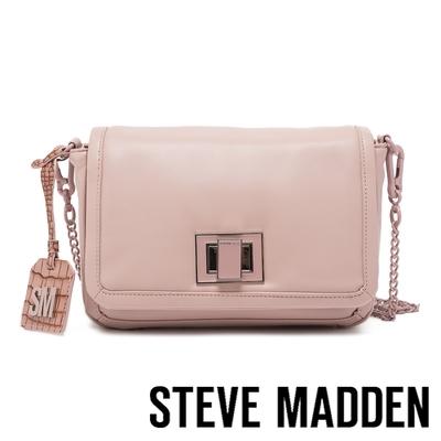 STEVE MADDEN-BTRIXY 柔軟皮質信封包-粉藕色