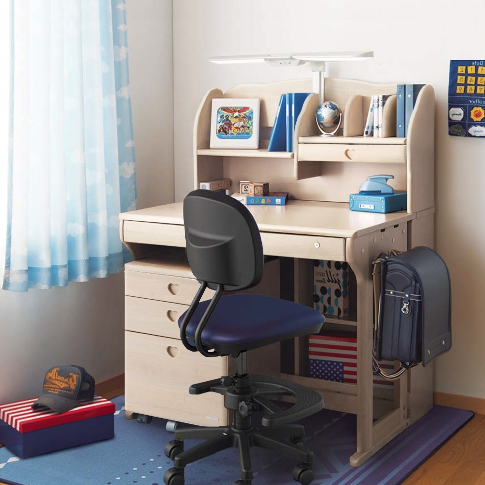 KOIZUMI_Woody Compact兒童成長實木書桌組ODF-594
