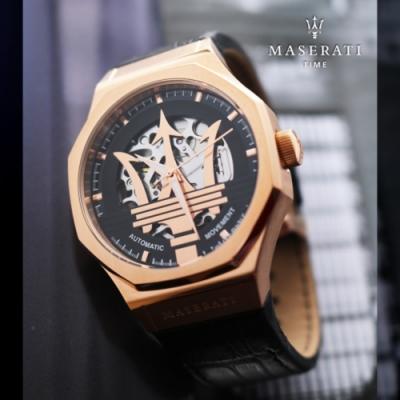 MASERATI 瑪莎拉蒂2020 LIMITED限定版自動機械錶/R8821108034