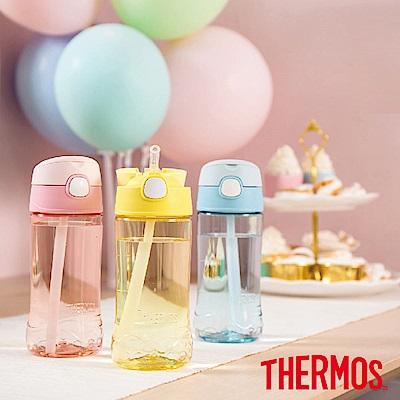 THERMOS膳魔師Tritan兒童吸管瓶0.45L(F4011T)