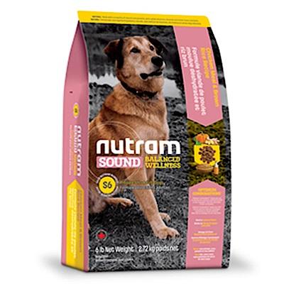 Nutram紐頓 S6 成犬(雞肉+南瓜)配方 2.72KG