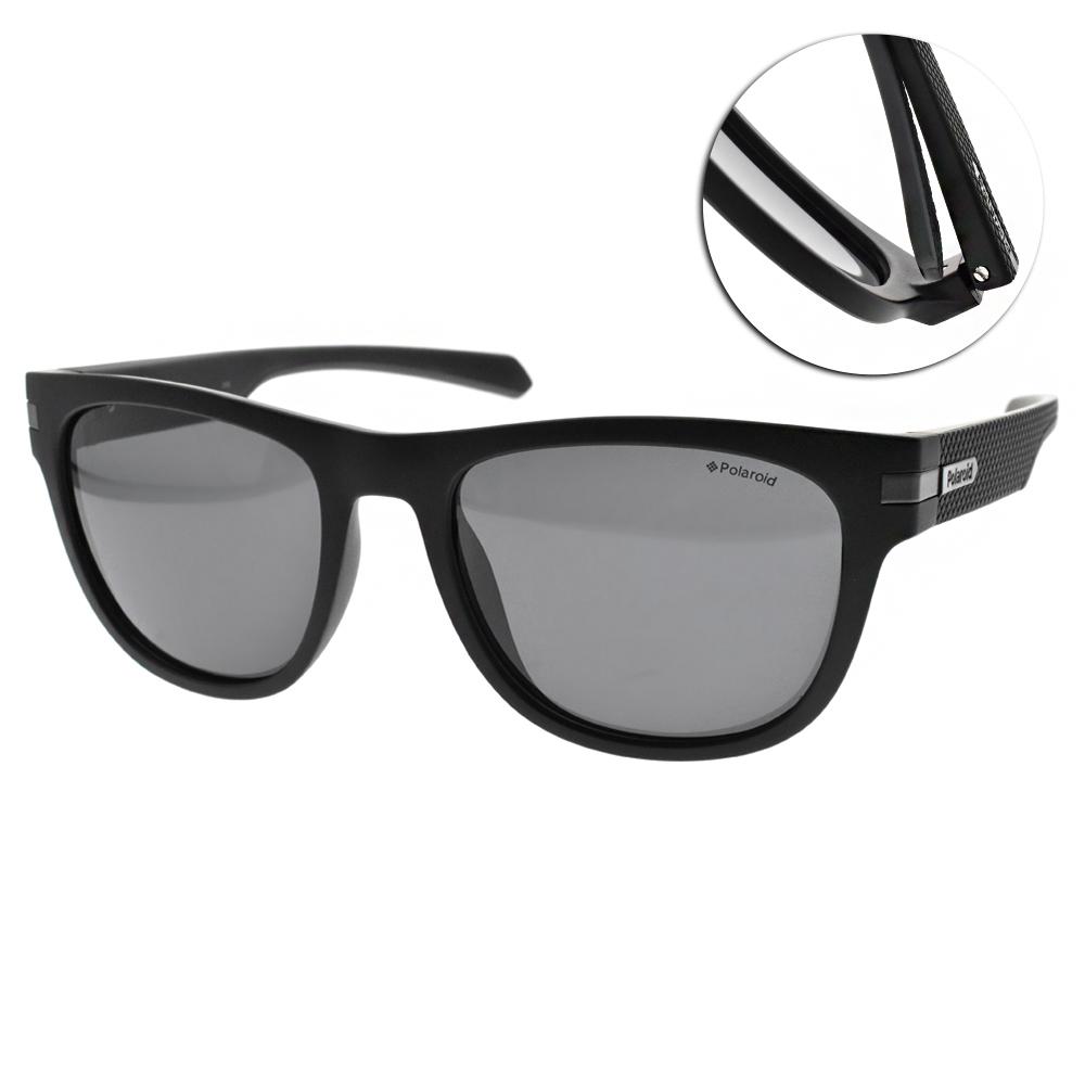 Polaroid 偏光太陽眼鏡/運動輕時尚/霧黑 #PLD2065S 003M9