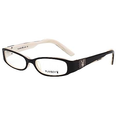 PLAYBOY-時尚光學眼鏡-黑色-PB85177