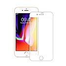 TEKQ iPhone7/8 Plus康寧3D滿版9H鋼化玻璃5.5吋螢幕保護貼-白