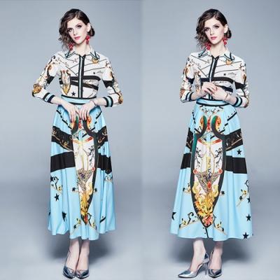 【KEITH-WILL】復古韓時尚修身洋裝-1色