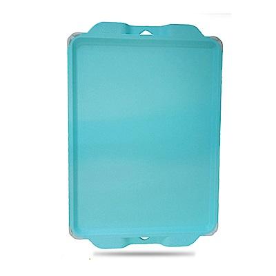 金德恩 台灣製造 馬卡龍時尚高級防霉抗菌砧板-藍